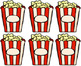 Fry Sight Words: Fry's 1000 Words on Popcorn Pieces
