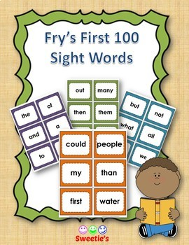 Fry's 1st 100 Flash Cards