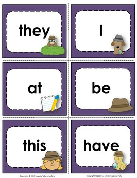 Fry's 1st 100 Flash Cards - Detective Theme