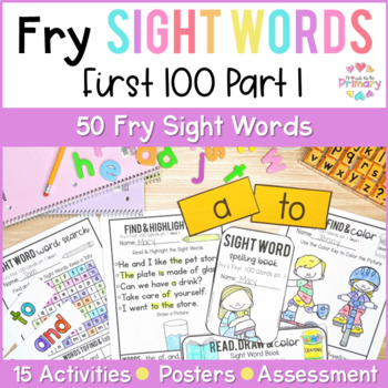 Fry's 1st 100 Words Sight Words Curriculum Part 1