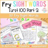 Fry's Sight Words Curriculum - First 100 Part 2