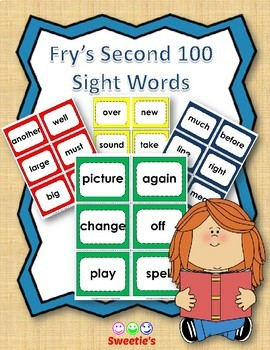 Fry's 2nd 100 Flash Cards