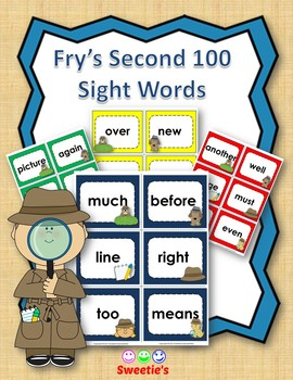 Fry's 2nd 100 Flash Cards - Detectives