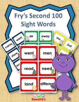 Fry's 2nd 100 Flash Cards - Space