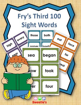 Fry's 3rd 100 Flash Cards