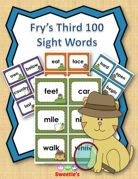 Fry's 3rd 100 Flash Cards - Detectives