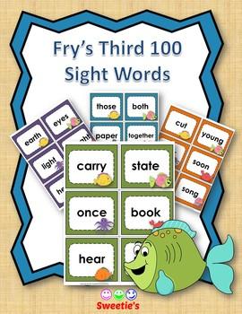 Fry's 3rd 100 Flash Cards - Ocean