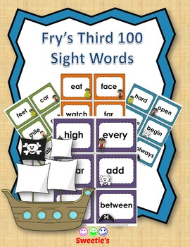 Fry's 3rd 100 Flash Cards - Pirates