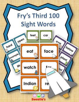 Fry's 3rd 100 Flash Cards - Space