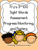 Fry's 3rd 100 Sight Words Assessment, Progress Monitoring,