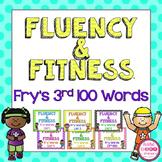 Fry's 3rd 100 Sight Words Fluency & Fitness Brain Breaks Bundle