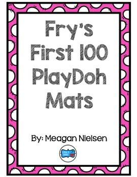 Fry's First 100 PlayDoh Mats