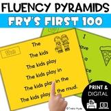 Sight Word Fluency Pyramids Fry's First 100