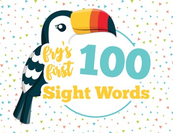 Fry's First 100 Sight Words - Flashcards