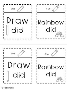 Fry's First 100 Sight Words Foldable Free