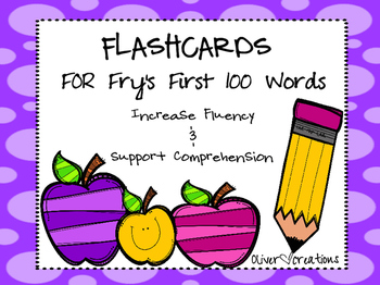 Kindergarten-Fry's First 100 Words