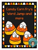 Fry's First 100 Words Candy Corn Jump, Trace It. Write It. Illustrate It.&more!