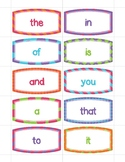 Fry's First 50 Sight Words Flash Cards