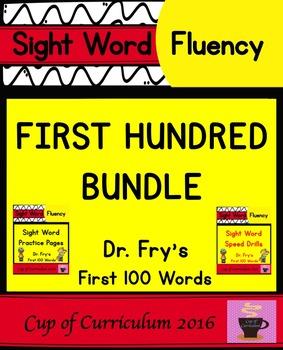Fry's First Hundred BUNDLE