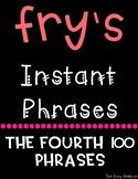Fry's Fluency Phrases - Fourth 100