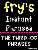 Fry's Fluency Phrases - Third 100