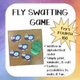 Fry's Fourth (4th) 100 Sigh Words- Fly Swatting Game