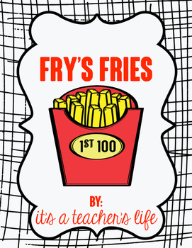 Fry's Fries - 1st 100 Sight Words