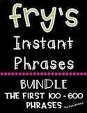 Fry's Fluency Phrases Bundle