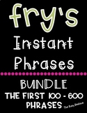 Fry's Fluency Phrases Bundle