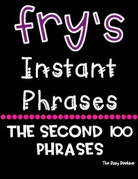 Fry's Fluency Phrases - Second 100