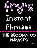 Fry's Fluency Phrases - Second 100