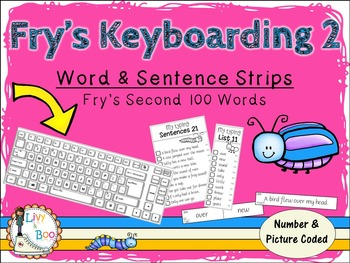 Fry's Keyboarding 2 - Sight Words & Sentence Strips - Fry's Second 100 Words