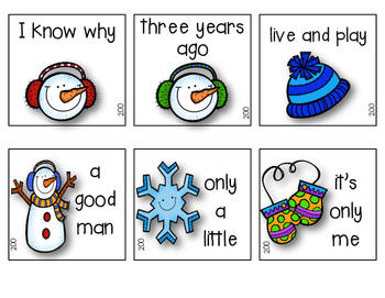 Fry's Phrases (200) Winter Edition