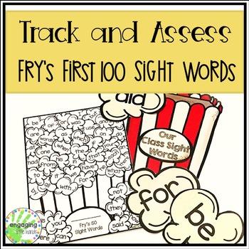 Fry's Popcorn Sight Words