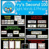 Fry's Second 100 Color Sight Words and Phrases Kit