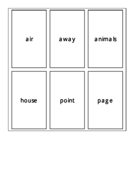 Fry's Second 100 Sight Word Cards Set 4
