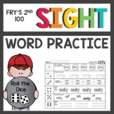 Sight Words Activities Fry's Second 100