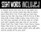 Fry's Sight Word (1-100) Scrambles