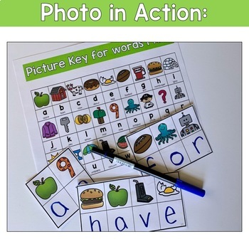 Fry's Sight Word Decoding Activity Words 1-200