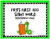 Fry's Sight Word Assessment Pack with Student Booklets