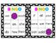Sight Word Bingo Words 25-50