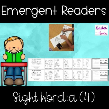 Fry's Sight Word Book: a (4)