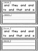 Fry's Sight Word Book: and (3)