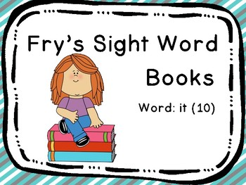 Fry's Sight Word Book: it (10)