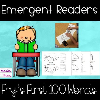 Fry's First 100 Sight Words Emergent Readers #newdeals