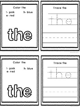 Fry's First 100 Sight Words Emergent Readers