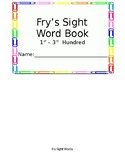 Fry's Sight Word Books