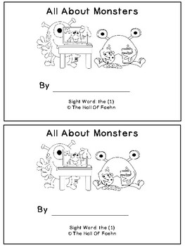 Fry's Sight Word Books Words 1-20