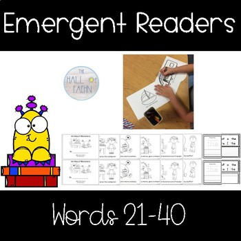 Fry's Sight Word Books Words 21-40