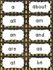 Fry's Sight Word Cards (1-500) Halloween Edition